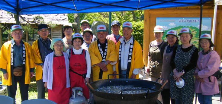 春の山菜鍋祭り